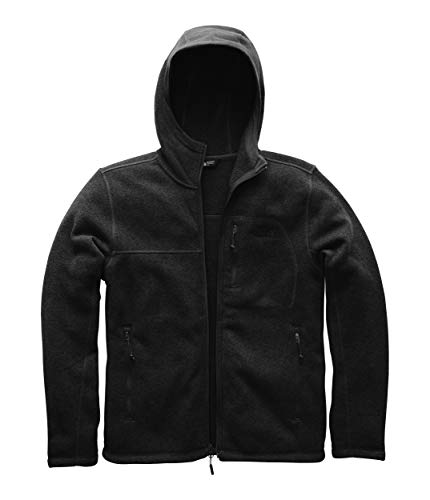 (The North Face Mens Gordon Lyons Hoodie - TNF Black Heather - XXL)