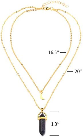 5 Strands Joss Resin Charms Necklace with Hematite Chains Pave Rhinestone Crystal  Pendants Jewelry For Women NK180
