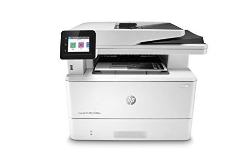 HP LaserJet Pro Multifunction M428fdw Wireless Laser Printer (W1A30A), White, One Size
