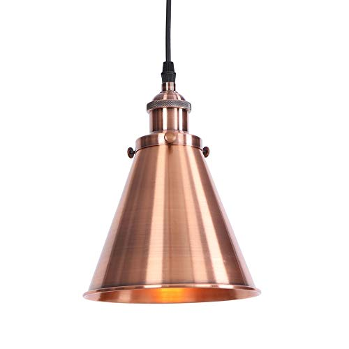 Industrial Chandelier, Edison LED Wrought Iron Chandelier Lighting Gold Metal Lampshade Attic Restaurant Bar Home Retro Chandelier (multi Style) ( Color : E , Size : 40W tungsten light ) ()