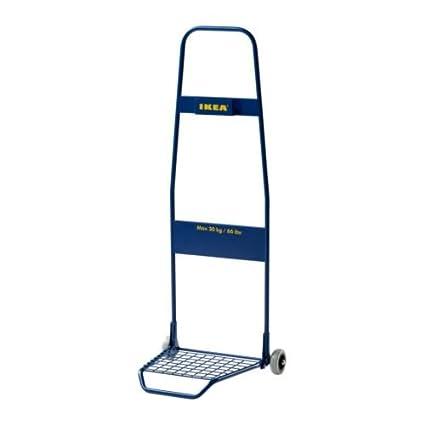IKEA FRAKTA - carrito, azul