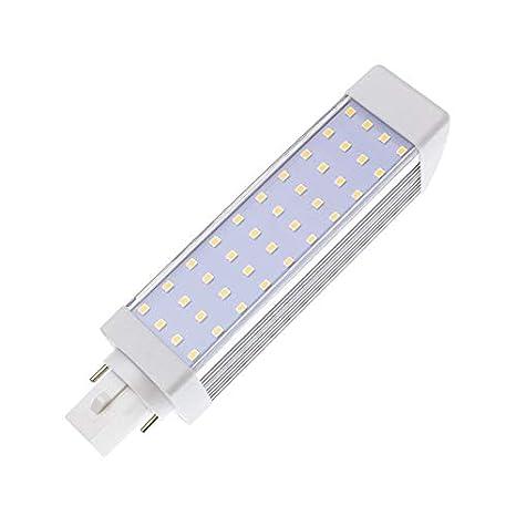 Bombilla LED G24 9W Blanco Frío 6000K-6500K efectoLED: Amazon.es: Iluminación