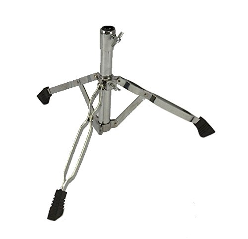 Base for Snare Drum Stand Double Braced Chrome Heavy Duty Tripod
