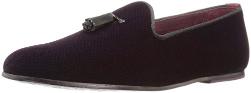 Ted Baker Mens Thrysa 3 Testo Am Dk Rosso Pantofola Rosso Scuro