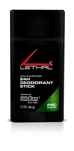 (LETHAL ProHunting 24 Hours Deodorant Stick, 2.3-Ounce)