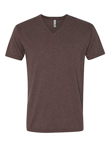 Next Level Apparel 6240 Mens Premium CVC V-Neck Tee - Espresso44; Medium -