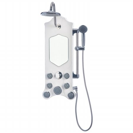 Jet-Pro 1301 Imperial Shower Spa, Antique White (Spas Imperial)