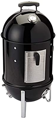 Weber Smokey Mountain Cooker Charcoal Smoker, Black from Weber