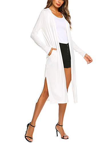 (Beyove Women's Long Sleeve Sweater Duster Cardigan)