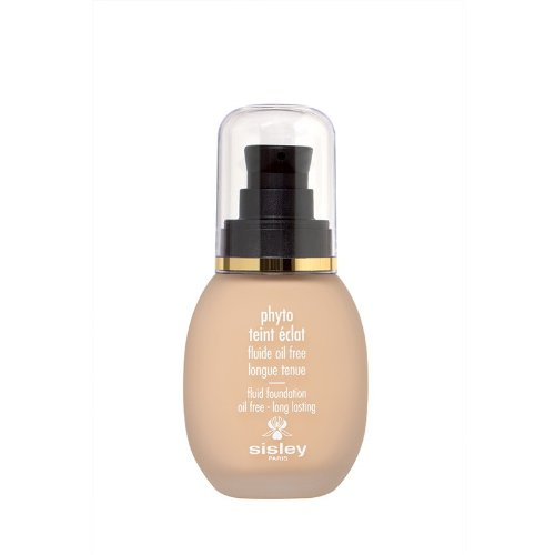 Sisley Phyto Teint Eclat Fluid Foundation Oil Free for Women, 1 Ivory, 1 Ounce (Best Foundation For Women Over 50)