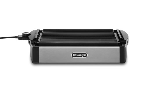 DeLonghi 2-in-1 Grill and Griddle Black/Stainless-Steel BGR50
