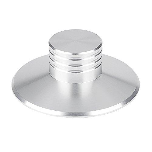 Vbestlife Record Gewicht Stabilisator, Vinyl Draaitafel Record Clamp Disc Stabilizer Aluminium TrillingsReducer voor LP…