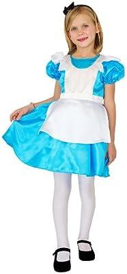 César F036-003 - Disfraz de Alicia para niña (8 años): Amazon.es ...