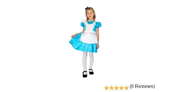 César F036-002 - Disfraz de Alicia para niña (5 años): Amazon.es ...