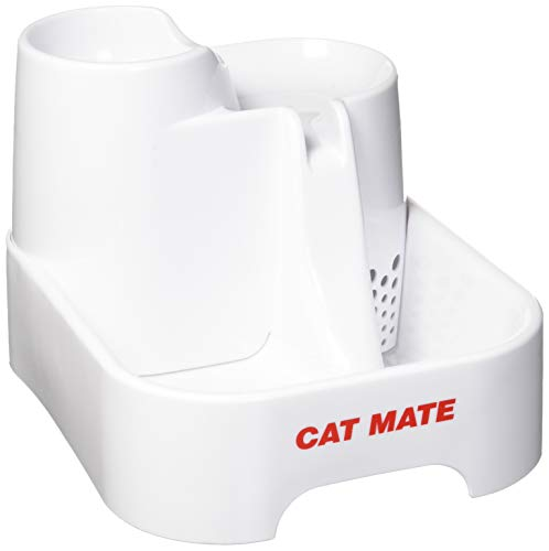 Dishes, Feeders & Fountains Cat Supplies Cat Mate Fresh Water Drinking Fountain For Cats And Small Dogs New
