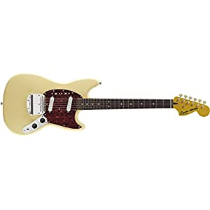 Squier By Fender Vintage Modified Mustang Electric Guitar Vintage White