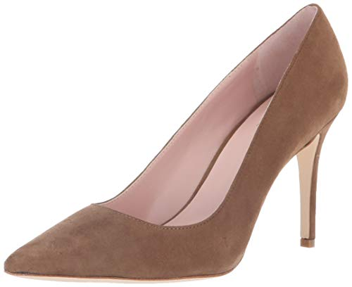 Kate Spade New York Women's Vivian Pump, New Taupe Kid Suede, 6.5 M US - New Taupe Pump