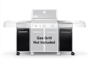 weber 7591 genesis island cabinetry outdoor grill carts patio lawn garden. Black Bedroom Furniture Sets. Home Design Ideas