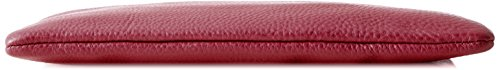 Fossil Damen Wristlets Geldbörse, 14.22x0.64x21.92 cm Rot (Raspberry Wine)
