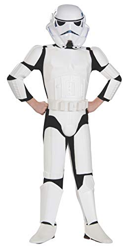 Star Wars Child's Deluxe Stormtrooper Costume, Medium -