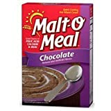 Malt O Meal, Chocolate, Quick Cooking Hot Wheat Cereal, 36oz Box (Pack of 2)