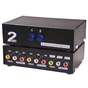 InstallerParts 2 Way Audio Video (3RCA) Input