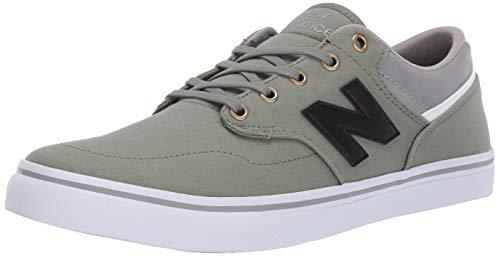 New Balance Men's 210v1 Skate Sneaker, OLIVE, 8 D US