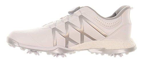adidas Women's W Adipwr Boost Boa Ftwwht Golf Shoe, Open White, 9.5 M US