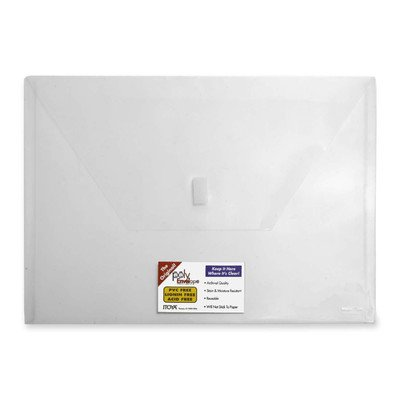 - Itoya Poly Envelope Color: Clear