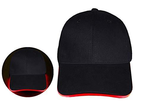 Flashing Light Hat (LongYuan Teck LED Hat Ultra Bright Lights Unisex Luminous Baseball Cap Easily Adjustable For Hunting, Jogging, Angling outdoor sports)