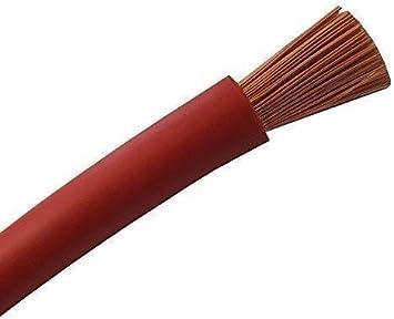 Todas las secciones Cable para Bater/ías H07V-k Rojo o Negro Por Metros Negro 10mm2 secci/ón 10mm2|16mm2|25mm2|35mm2|50mm2|70mm2