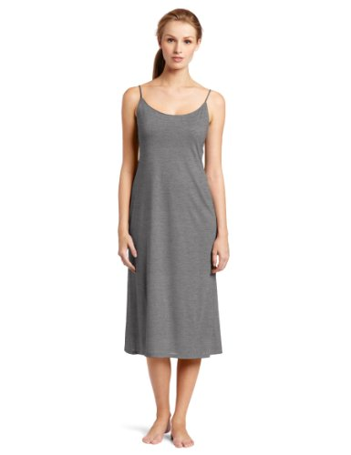 Natori Women's Shangri-La Nightgown, Heather Grey, Small
