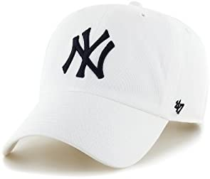 '47 Brand MLB NY Yankees Clean Up Cap - White
