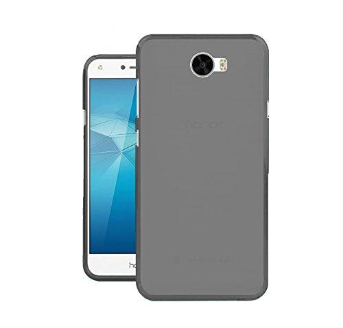 TBOC® Schwarz Gel TPU Hülle für Huawei Y5II - Y5 2 Ultradünn Flexibel Silikonhülle
