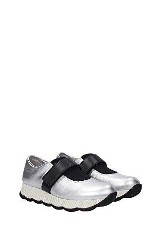 Sneakers Prada Damen - (3S6178ARGENTO) EU Grau