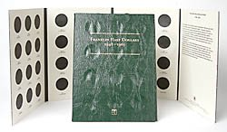 Littleton Franklin Half Dollars Coin Folder LCF9