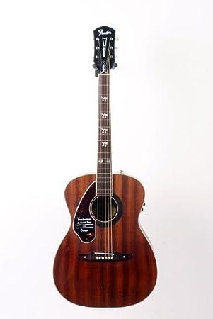 Guitarra acústica eléctrica para zurdos Fender Time Armstrong Hellcat 888365037639: Amazon.es: Instrumentos musicales