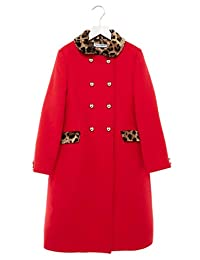 Dolce e Gabbana Girls L53c47fu2tsr0026 Red Wool Coat