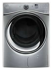 Whirlpool WED99HEDC 7.3 Cu. Ft. Chrome Shadow Stackable E...