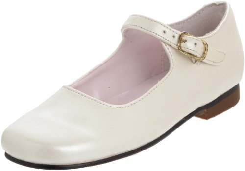 Toddler Girl's Nina 'Bonnett' Mary Jane, Size 11 W - Beige