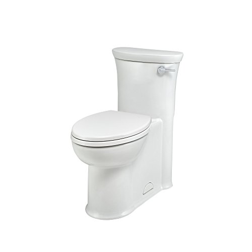 - American Standard 2786813.020 Tropic Height Elongated One-Piece 1.28 gpf Toilet with Right Hand Trip Lever, White