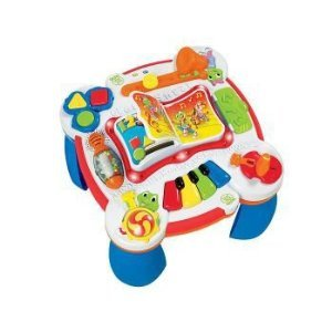 LeapFrog Learn and Groove Musical Table Activity Center is one of the best toys for babies
