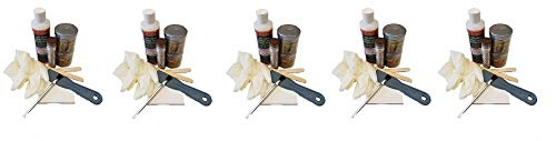 PC Products Rotted Wood Repair Kit, Water-Based Hardener, Epoxy Paste & Epoxy Putty, 1oz, 84113 (5)