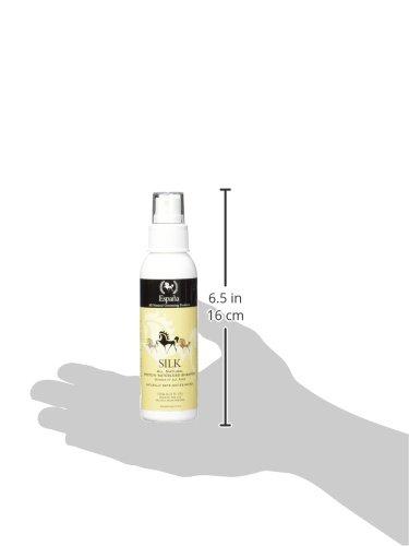Amazon.com : Espana Silk ESP0200E Specially Formulated Silk Protein Waterless Shampoo for Horses, 4.23-Ounce : Pet Supplies