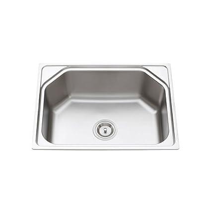 Buy 10x Kitchen Sink 24*18*9 Matte Finish Kitchen Sink Stainless ...