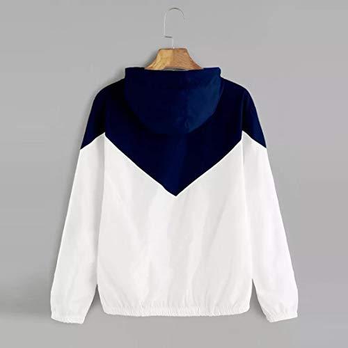 Tops Skinsuits Manteau Veste Marine Femme Hooded Manches Sport Mince Longues Bringbring Zipper Blouse Zvqg7Y8w