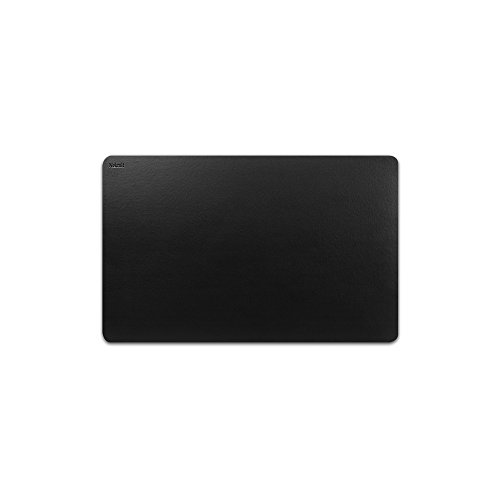 Nekmit Leather Desk Blotter 17''x12'', Black by Nekmit