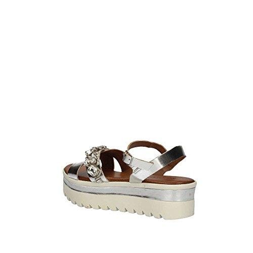 Sandal Women Inuovo 8218 Sandal Women Silver Inuovo Inuovo 8218 Silver 8218 qzrSqwxH8