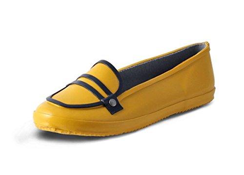 Mist Women's Nomad Rain Shoe Yellow Rubber 5appRdq