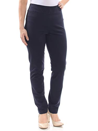 Tommy Hilfiger Womens Parallel Lines Mid-Rise Stretch Skinny Pants Navy - Jeans Ladies Hilfiger Tommy